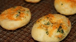 petits pains  l ail fromage garlic cheese bread rolls خبز بالثوم وجبن