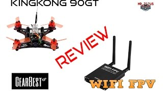 Review 90GT Nano Racer y Receiver to Wifi - Mr.Zitus FPV