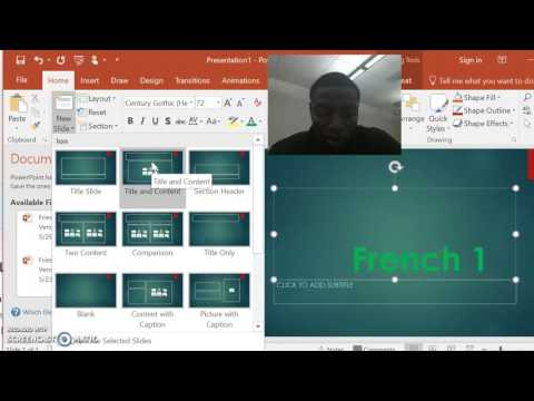 Learn How To Use Powerpoint