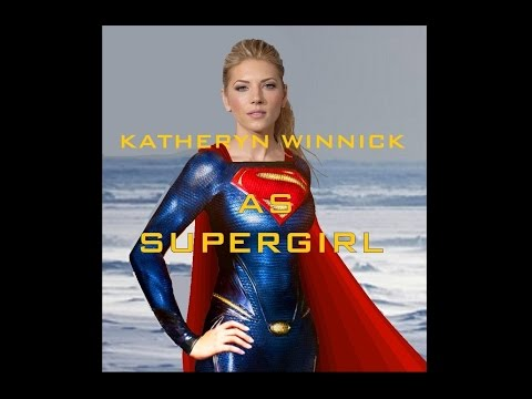 Katheryn Winnick. Supergirl in Man of Steel 2