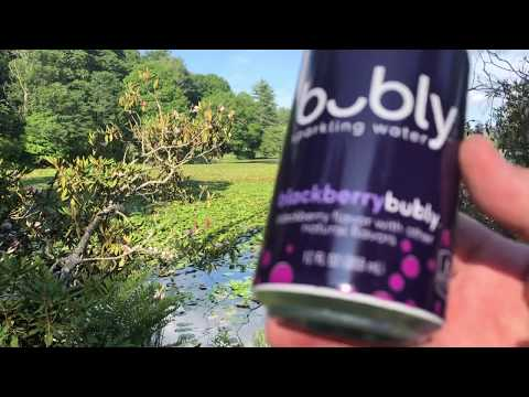 Bubly Blackberry Soda Water Review