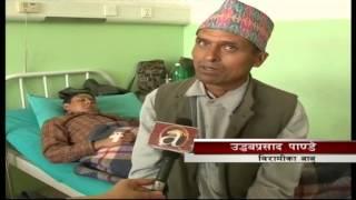 17yr boy suffering due aplastic anemia