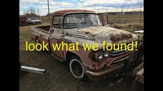 Fargo Fever, Rare Mopar Classics and more! we bring home a rare classic!