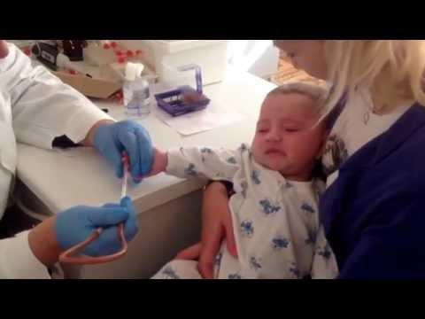18.09.2015 Перед  прививкой сдаем анализ крови