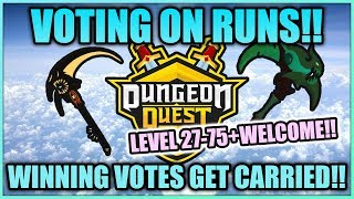 ⚔️Dungeon Quest Carry Live Stream 🔴 70+ Runs of GLORY and Retribution💎Roblox (Kings Update)