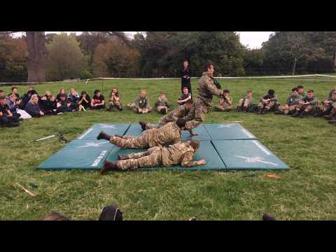 Royal Marines Unarmed Combat CQC
