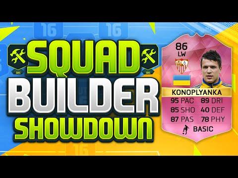 FIFA 16 SQUAD BUILDER SHOWDOWN!!! PINK KONOPLYANKA!!! FUTTIES Tournament Prize Konoplyanka