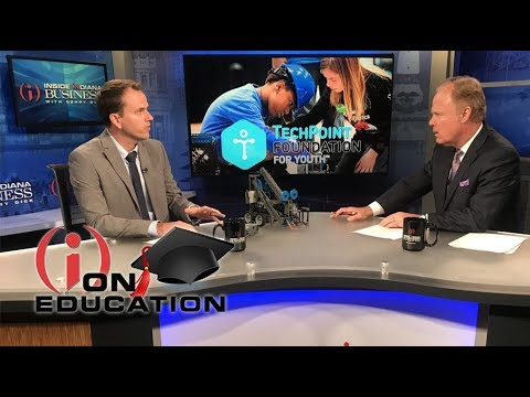 IIBTV: TechPoint For Youth Foundation Robotics Initiative For Teachers