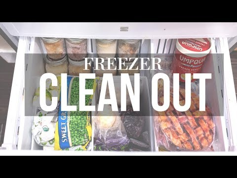 FREEZER CLEAN OUT AND ORGANIZATION
