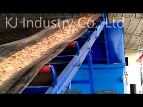 220KW Drum Wood Chipper for Power Plant in Cambodia, output wood chips less than 30mm