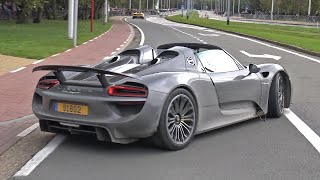 Porsche 918 Spyder - Lovely Accelerations!