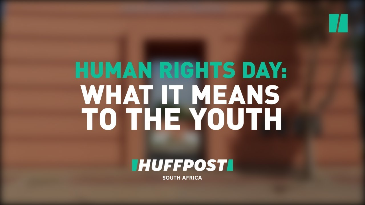 What Do The Youth Of Sharpville Think About Human Rights Day