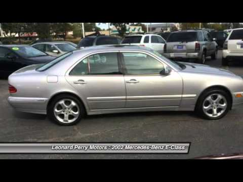 2002 mercedes benz e class e430 4matic awd 4dr sedan point for Leonard perry motors nj