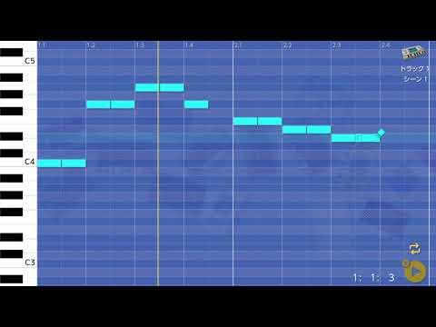 画像2: 01 きらきら星のメロディーを入れてみる バレッドプレス KORG Gadget for Nintendo Switch講座 www.youtube.com