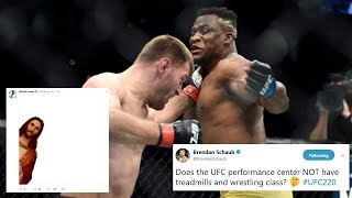 Mma Reactions To Stipe Miocic 39 S Win