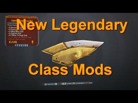 New Legendary Class Mods! : Borderlands2