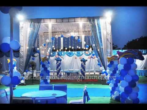 The azad birthday planner decorators panchkula chandigarh for 1st birthday stage decoration