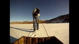 GO PRO - ICE FISHING STRAWBERRY - BIG CUTTHROAT TROUT