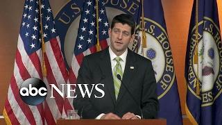 Speaker Paul Ryan responds to pulling the GOP healthcare bill