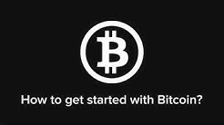 How to get started with Bitcoin - explained in 3 minutes