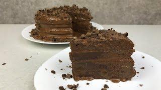 ТОРТ ПРАГА - МОЙ РЕЦЕПТ! ОЧЕНЬ ВКУСНЫЙ И ШОКОЛАДНЫЙ! / THE PRAGUE CAKE !