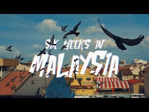 Six weeks travel in Malaysia