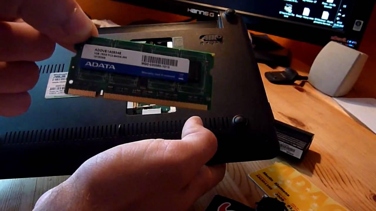 Asus Eee Pc P1001px Ram Erweitern Und Festplatte Tauschen