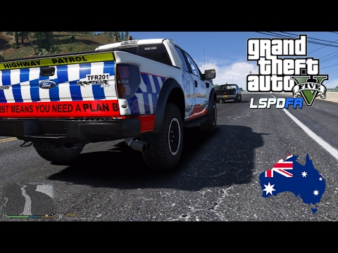 GTA 5 - LSPDFR Australia: NSW Police Ford F150 Highway Patrol! (GTA 5 Police Mod for PC)
