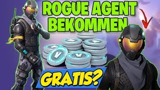 How to get the NEW ROGUE AGENT Skin | Fortnite Battle Royale