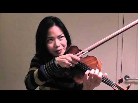 Free Violin Tutorials - Ning Kam - Pizzicato