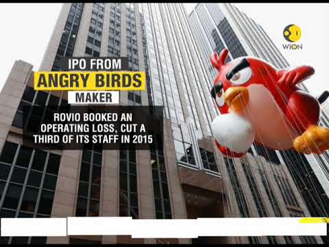 IPO from Angry Birds maker; Rovio Entertainment sets price range for listing