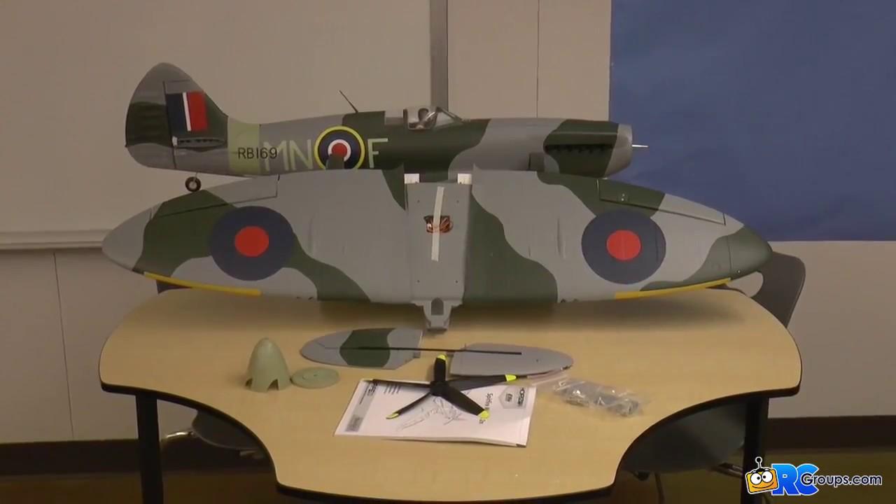 E-Flite Spitfire Mk XIV 1 2M BNF Basic - RCGroups Review