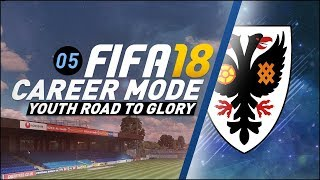 FIFA 18 Youth Career Mode RTG S4 Ep5 - JAWON'T SCORE GOALS LIKE THAT!!