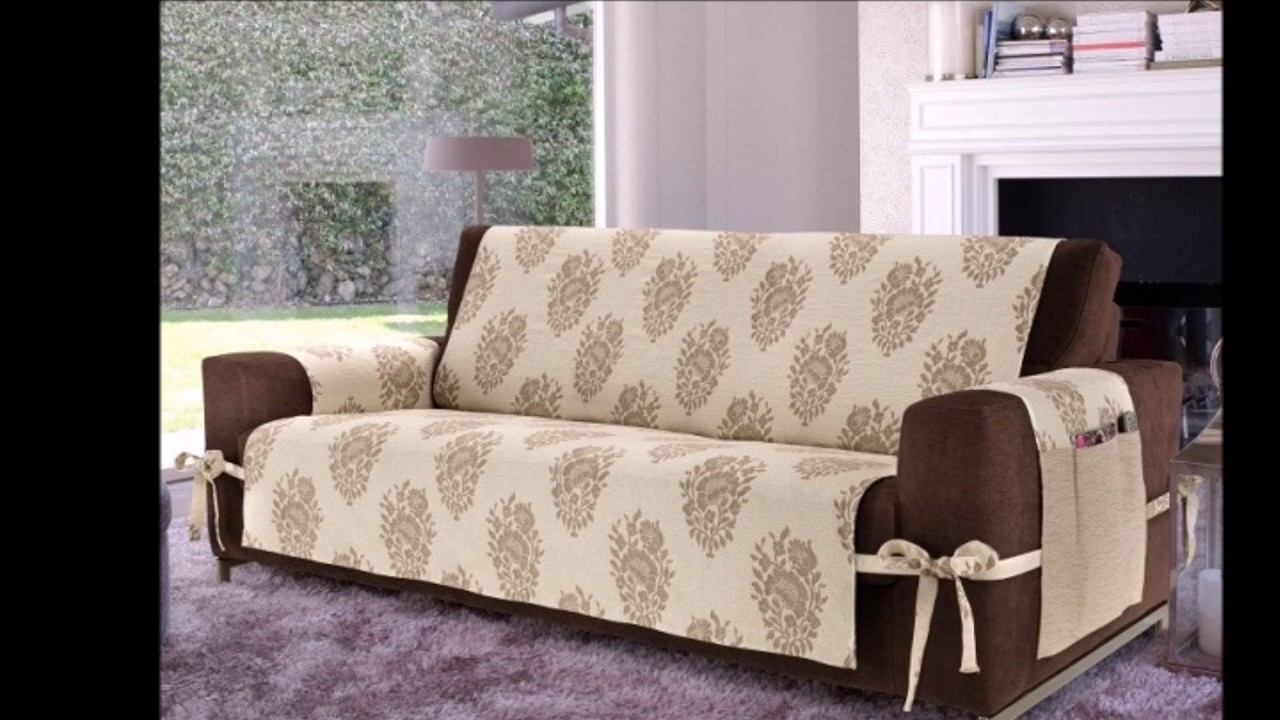 elegant sofa covers diy decoration ideas youtube On diy couch cover ideas