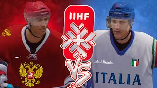 ЧЕМПИОНАТ МИРА ПО ХОККЕЮ 2020 РОССИЯ vs ИТАЛИЯ КАРЬЕРА ЗА РОССИЮ NHL LEGACY EDITION