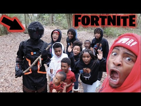 DEDE3X GOT KIDNAPPED BY A FORTNITE CHARACTER!!