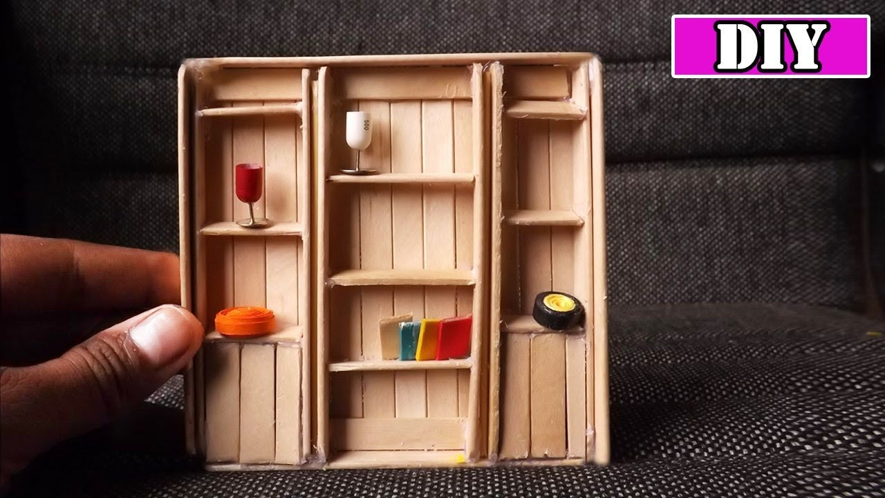 Diy Bookshelf Dollhouse