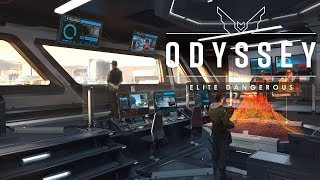 Elite Dangerous Odyssey - No VR Support On Launch, No Base Building