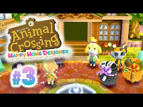 Ep3 animal crossing happy home designer nouvelle ecole for 7 11 happy home designer