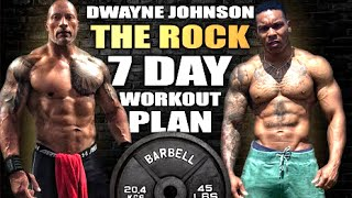 """I TRIED Dwayne """"THE ROCK"""" Johnson's FULL WORKOUT ROUTINE"""