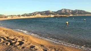 видео Пляжи Марселя