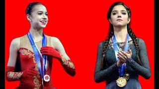 ЗАГИТОВА И МЕДВЕДЕВА 11 млн спящей Загитовой Сколько стоило Медведевой поражение на Олимпиаде