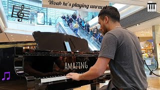 Amazing 1 Hour Mall Piano Performance! Tokyo Ghoul, Naruto, Fairy Tail, Dearly Beloved (UK)