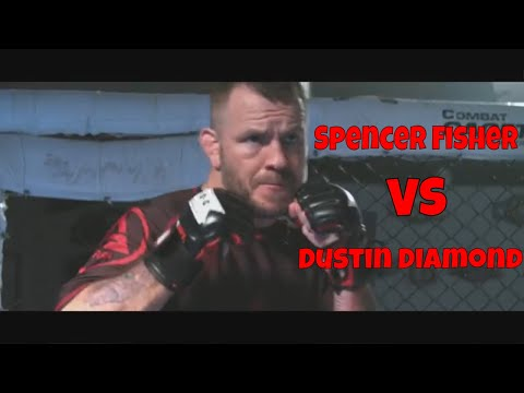 UFC Veteran Spencer Fisher VS Dustin Diamond Insurance King