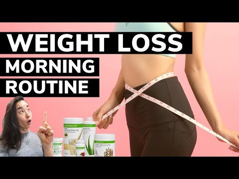 My Morning Routine For Weight Loss 2020: Herbalife Shakes, Aloe Vera, Fiber Complex, Probiotic