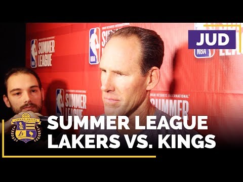 Lakers Summer League: Jud Buechler Evaluates Alex Caruso, Thomas Bryant
