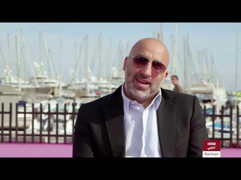 مخرج الكوميديا السوداء -تشويش- أحمد غصين في لقاء مع لسينما بديلة في  مهرجان كان.  - 18:21-2018 / 1 / 19