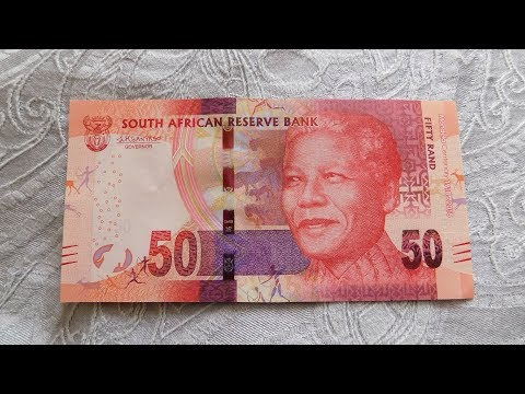 South Africa 50 Rand Banknote!