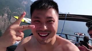 Peter VLOG 71 夏季滑水最后一次 看看老钟滑的怎么样 thumbnail