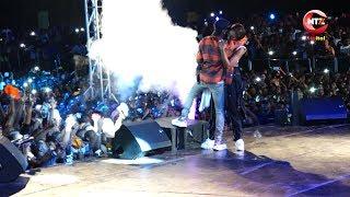 MAHABA? Wizkid, Tiwa Savage washindwa kujizuia hisia zao katika show ya Wasafi Festival